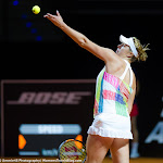 STUTTGART, GERMANY - APRIL 19 : Anastasia Pavlyuchenkova in action at the 2016 Porsche Tennis Grand Prix