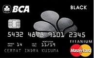 Kartu Kredit BCA MasterCard Blalck