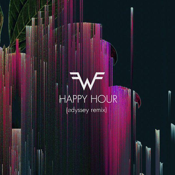 Weezer - Happy Hour (Ødyssey Remix) - Single Cover