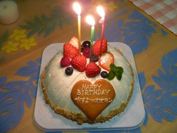 バースデーケーキ2011