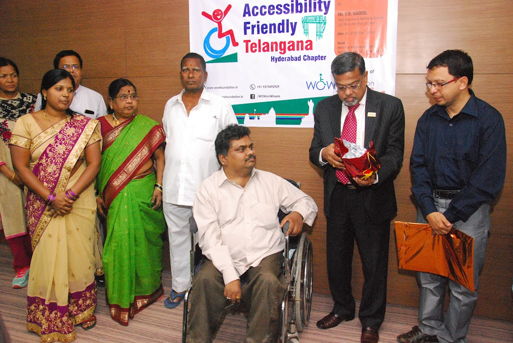 Launching of Accessibility Friendly Telangana, Hyderabad Chapter - DSC_1206.JPG