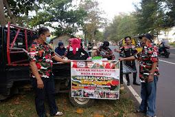 Alhamdulillah, Sekwan dan PDAM Turut Suport Kegiatan Sosial Ramadhan LMP Bengkulu