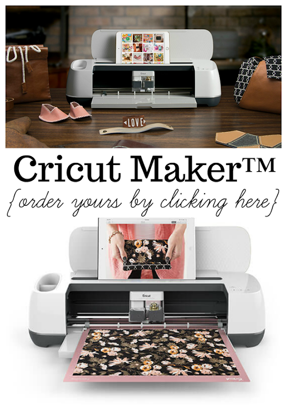 Order your Cricut Maker™ Machine right here! #cricut #cricutmaker #cricutmade