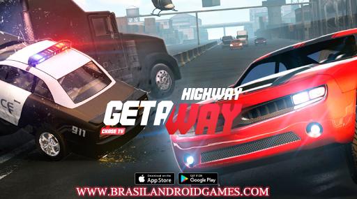 Highway Getaway: Chase TV Imagem do Jogo
