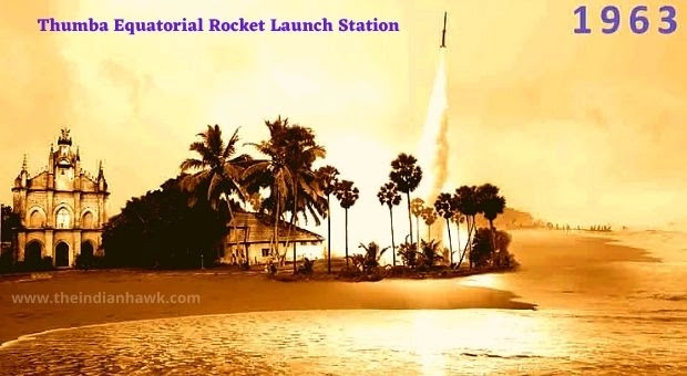 India's First Rocket Lauch from Thumba Equatorial Rocket Launch Station (TERLS)
