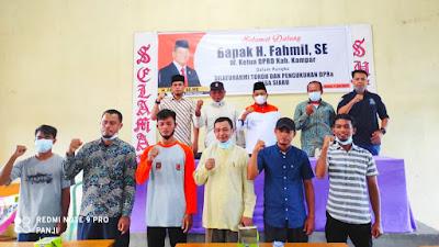 Dewan Pengurus Ranting ( DPRa)  Partai Keadilan Sejahtera PKS Desa Siabu  Telah Resmi Dibentuk