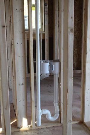 plumbing upstairs one