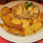 Cordoba - pollo y papas espanolas