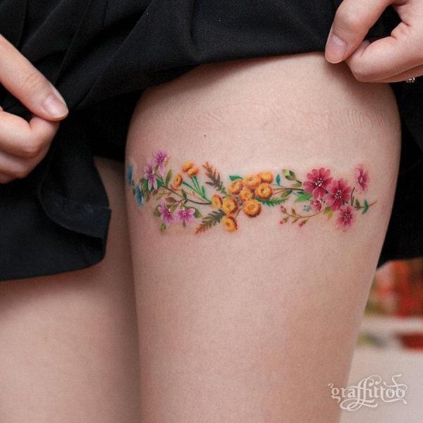 esta_liga_de_estilo_floral_aquarela_flor_da_tatuagem