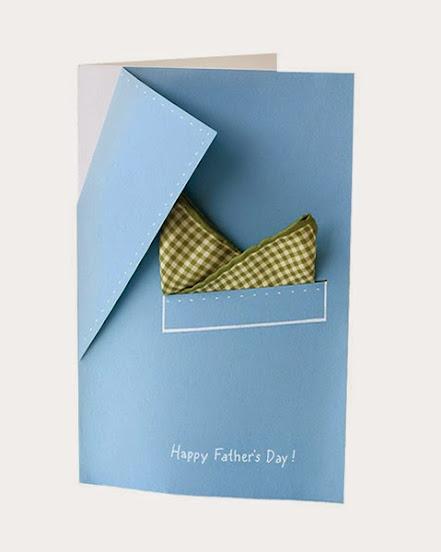 Modelo de cartão para o Dia dos Pais