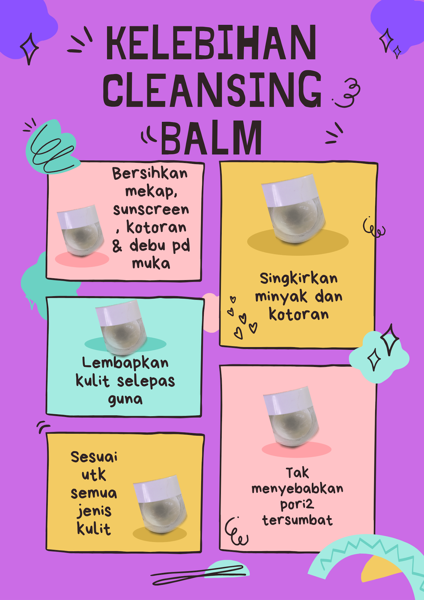 cleansing balm, cleansing balm obsess, cuci mekap
