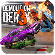 Download Game Demolition Derby 3 [Mod: a lot of money] APK Mod Free