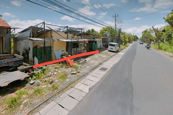 Tanah Murah Strategis Pinggir Jalan Utama Purbaya Cebongan Mlati