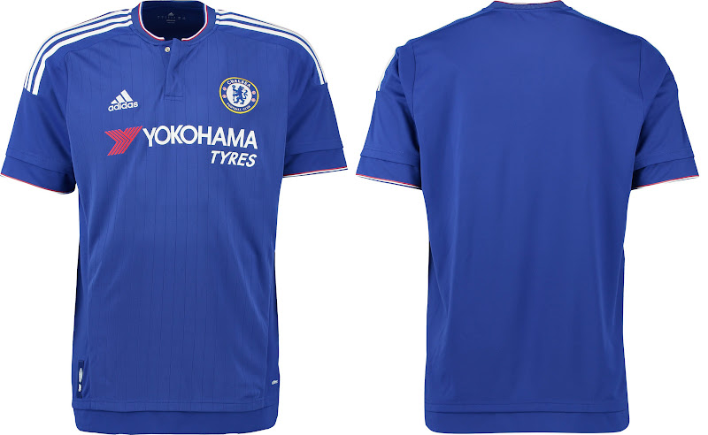 All New Chelsea FC 2015-16 Home Kit – Released  3b73afff7