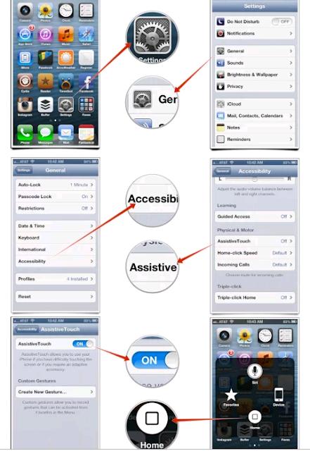 -How to Quickly Turn iPhone AssistiveTouch Icon On/Off - Voici comment disposer d'un bouton Home virtuel sur votre iPhone ou iPod - ﺍﺿﺎﻓﺔ ﺯﺭ ﺍﻟﻬﻮﻡ ﻓﻲ ﺷﺎﺷﺔ ﺍﻻﻱ ﻓﻮﻥ Menu Button Emulator | - ﻃﺮﻳﻘﻪ ﺇﻇﻬﺎﺭ ﺯﺭ ﺍﻟﻬﻮﻡ ﻋﻠﻰ ﺷﺎﺷﻪ ﺍﻻﻳﻔﻮﻥ ﻭﺍﻟﺘﺤﻜﻢ ﺍﻟﺰﺭ ﻧﻔﺴﻪ ﺑﺎﺃﻋﺪﺍﺩﺕ و القائمة . - ﺷﺮﺡ : ﻃﺮﻳﻘﺔ ﺍﺳﺘﺨﺪﺍﻡ ﺟﻬﺎﺯ ﺃﻳﻔﻮﻥ ﺑﺪﻭﻥ ﺯﺭ ﺍﻟﻬﻮﻡ ﺍﻭ ﺍﺫﺍ ﺗﻌﺮﺽ ﻟﺨﻠﻞ - ﻛﻴﻒ ﺗﺴﺘﺨﺪﻡ ﺟﻬﺎﺯ ﺍﻵﻳﻔﻮﻥ ﺃﻭ ﺍﻵﻳﺒﺎﺩ ﻓﻲ ﺣﺎﻝ ﺗﻌﻄﻞ ﺯﺭ ﺍﻟﻬﻮﻡ ﺍﻟﺴﻔﻠﻲ ﺃﻭ ﺯﺭ ﺍﻟﺒﺎﻭﺭ ﺍﻟﻌﻠﻮﻱ - ﻃﺮﻳﻘﺔ ﺗﻔﻌﻴﻞ ﺧﺎﺻﻴﺔ Accessibility Shortcut ﺯﺭ Home ﻋﻠﻰ ﺍﻳﻔﻮﻥ - ﺯﺭ ﺍﻟﻬﻮﻡ ﻓﻲ ﺍﻻﻳﻔﻮﻥ 6 -ﺍﺻﻼﺡ ﺯﺭ ﺍﻟﺒﺎﻭﺭ ﻓﻲ ﺍﻻﻳﻔﻮﻥ -ﺍﻇﻬﺎﺭ ﺯﺭ ﺍﻟﻬﻮﻡ ﻋﻠﻰ ﺷﺎﺷﺔ ﺍﻻﻳﻔﻮﻥ -ﺑﺪﻳﻞ ﺯﺭ ﺍﻟﻬﻮﻡ ﻓﻲ ﺍﻻﻳﻔﻮﻥ -ﺯﺭ ﺍﻟﻬﻮﻡ ﻓﻲ ﺍﻻﻳﻔﻮﻥ 6 - ﺯﺭ ﺍﻟﻬﻮﻡ ﻓﻲ ﺍﻻﻳﻔﻮﻥ ﻻ ﻳﻌﻤﻞ -ﺯﺭ ﺍﻟﺒﺎﻭﺭ ﻓﻲ ﺍﻻﻳﻔﻮﻥ ﻻ معطل ماهو البديل - ﺗﺸﻐﻴﻞ ﺍﻻﻳﻔﻮﻥ ﺑﺪﻭﻥ ﺯﺭ ﺍﻟﺒﺎﻭﺭ ﺯﺭ ﺍﻟﺒﺎﻭﺭ ﻓﻲ ﺍﻻﻳﺒﺎﺩ ﻻ ﻳﻌﻤﻞ