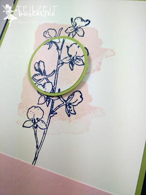 Stampin' Up! - In{k}spire_me #201, Color Challenge, Happy Watercolor, Flowers, Blumen, Birthday, Geburtstag, Zum großen Tag, Big Day, SAB