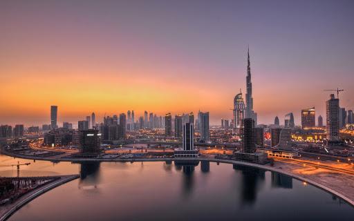 UAE Dubai Sky Scrappers
