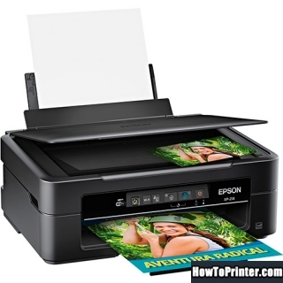 Reset Epson XP-214 printer Waste Ink Pads Counter