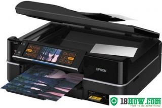 How to Reset Epson TX810FW flashing lights error