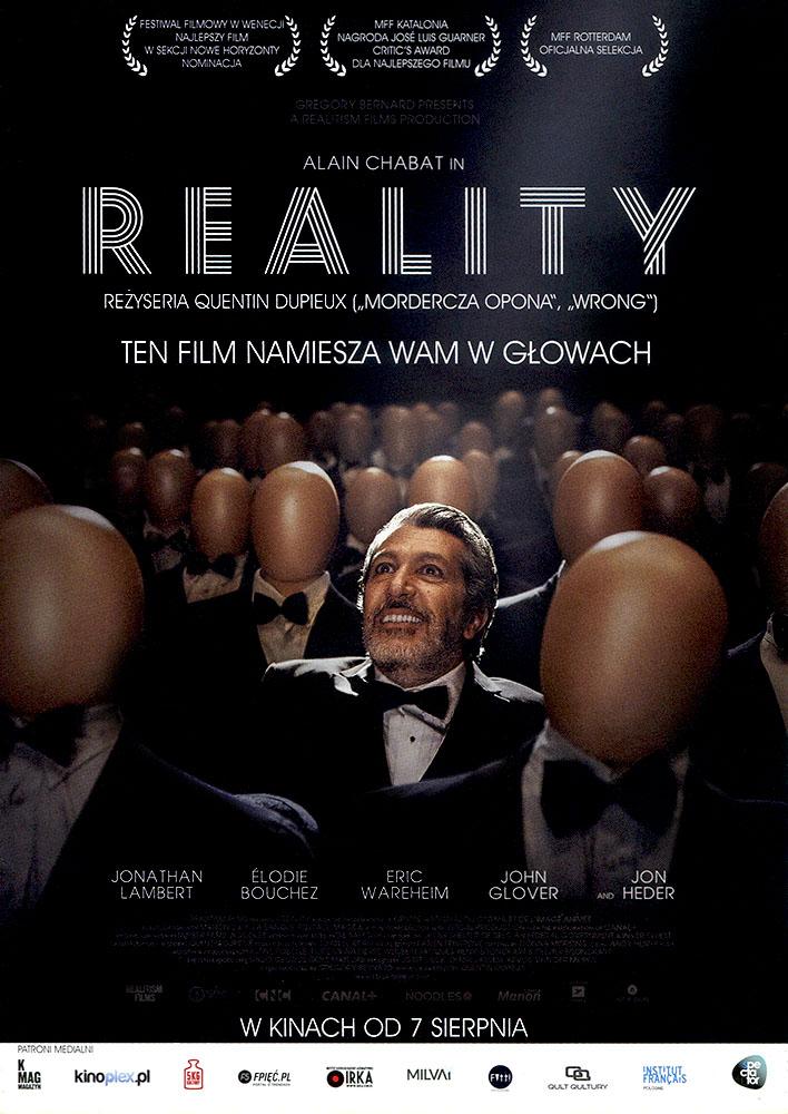 Ulotka filmu 'Reality (przód)'