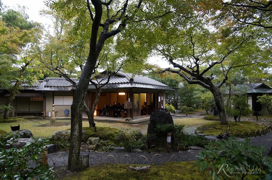 高台寺內的茶館
