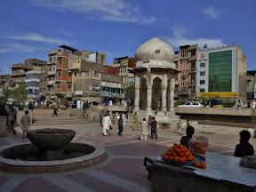 Chowk Yadgaar in Peshawar, Khyber Pakhtunkhwa, Pakistan