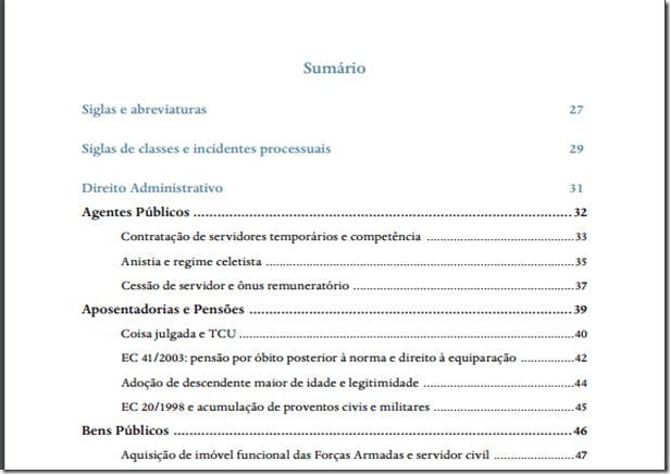 STF disponibiliza ebook com teses separadas por matéria (ed. 2015)