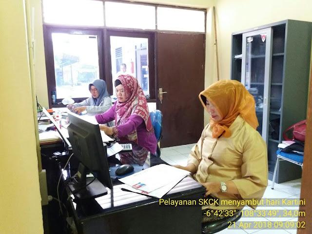 Layanan Prima Di Hari Kartini Di Lingkungan Polres Cirebon Kota