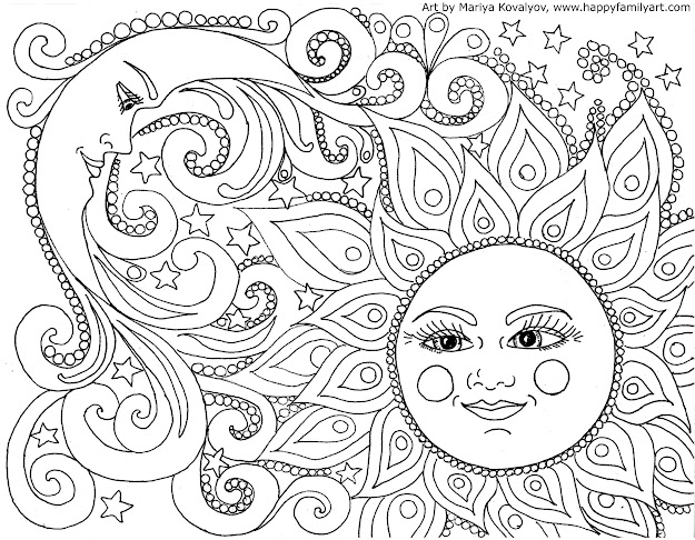 Made Many Great Fun And Original Coloring Pages Color Your Heart Out