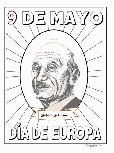 Robert Schuman colorear