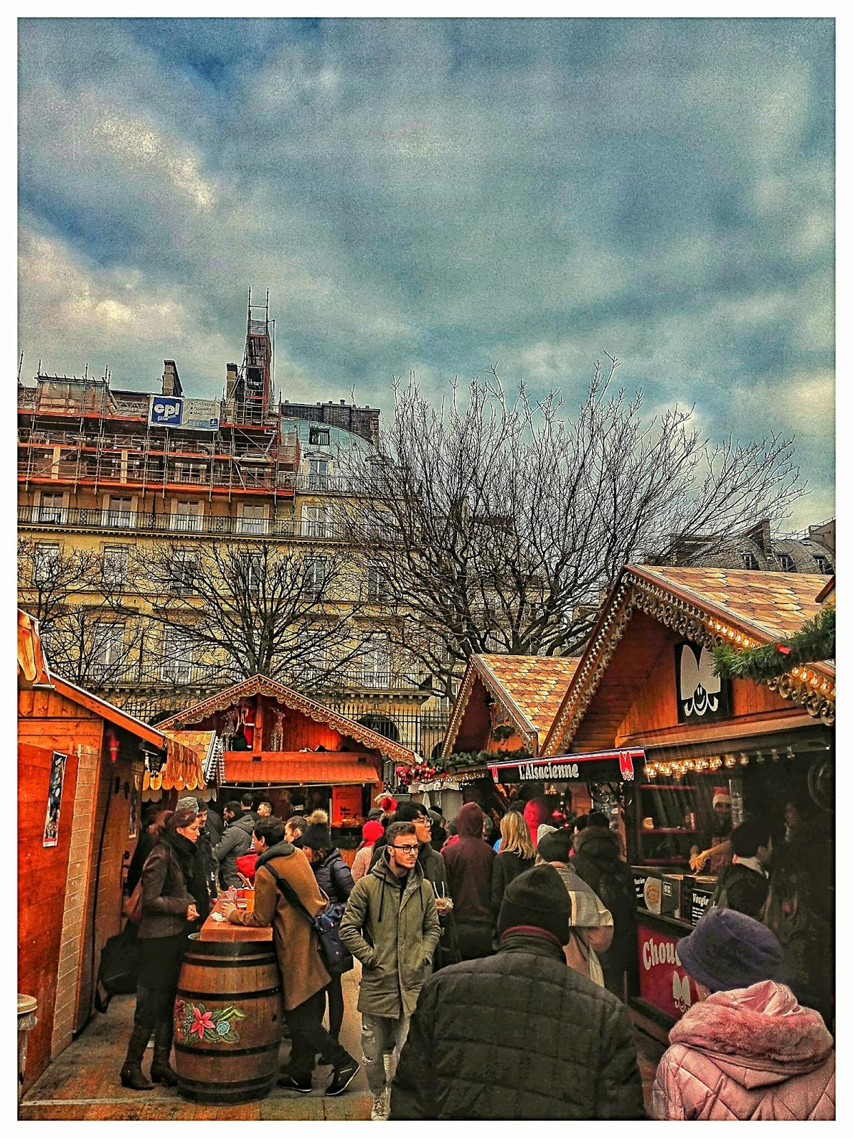 paris christmas markets 2018