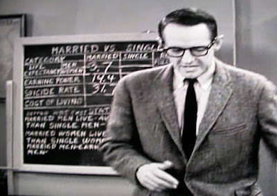Dobie Gillis teacher Mr. Pomfritt lectures on benefits of marriage in 1962 TV sitcom