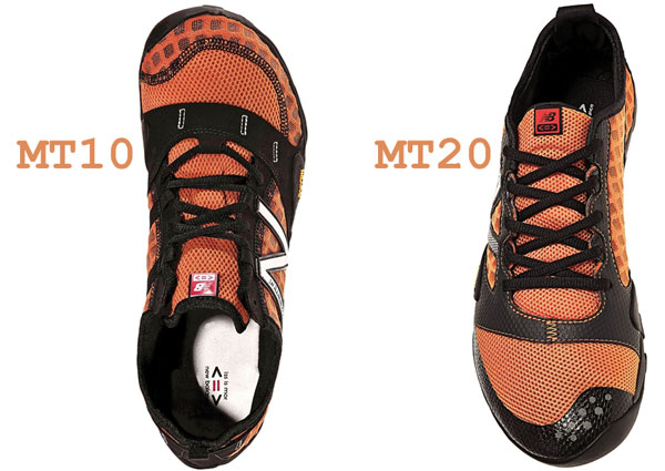 New Balance MT10 and MT20 profiles compared
