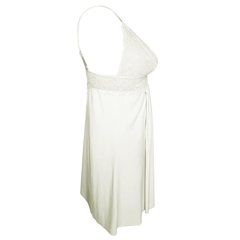 لباس خواب زنانه ینینچی مدل 10050 رنگ سفید