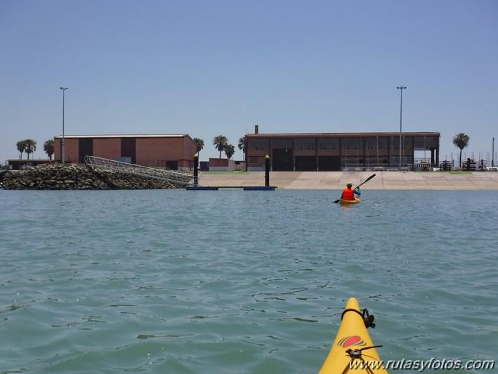 Kayak Club Nautico Elcano - Puente de la Constitución de 1812