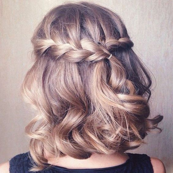 Braid for Short Hair :Style French Style Newest Ideas 2017 8