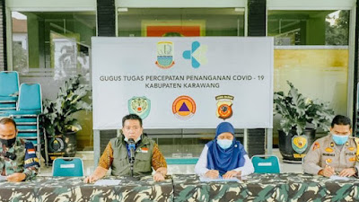 Mulai Hari Ini , Kabupaten Karawang Resmi Berlakukan PSBB Proporsional Selama Dua Pekan