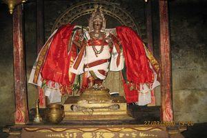 Thiruppariyalur (Parasallur) Temple - Urchavar Samharamurthy