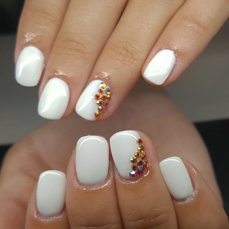 Crystal Nails Art Design Ecset : Crystal nail art designs style you - Crystal Nails Art Design Ecset ~ Posted On May Author Eye Candy