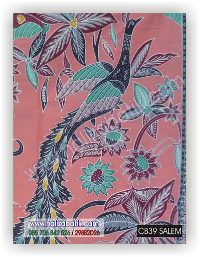 Jual Batik Online, Mode Batik Modern, Desain Baju Batik, CB39 SALEM
