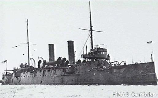 HMS_Cambrian_1910_AWM_302155