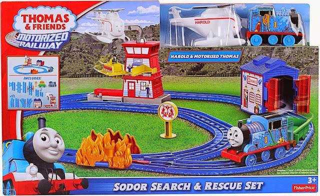 Sản phẩm Tàu hỏa Thomas Tìm kiếm và Cứu hộ chính hãng 100% Mattel Mỹ