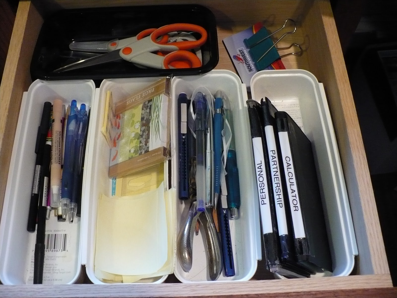 frequently used office supplies