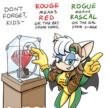 Rouge vs Rogue