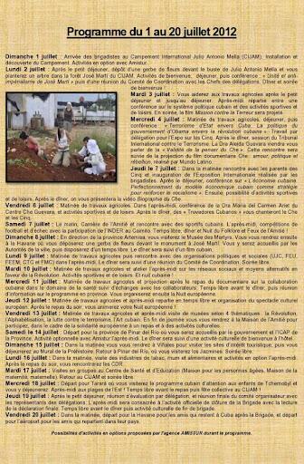 Chantier-Cuba-2012-programme