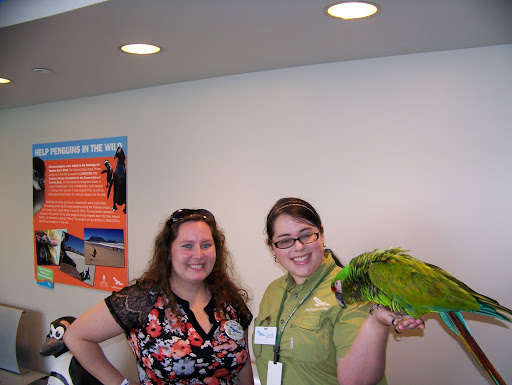 Visiting the National Aviary