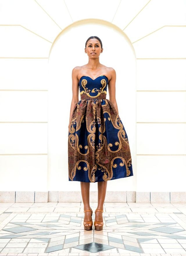 Hot & Trendy and Latest Modern African Dress Styles 2016 ...