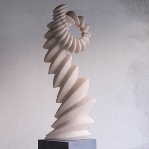 Revel: PORTUGUESE MARBLE, 2013: W 42cm, H 120 cm, D 25 cm; SOLD