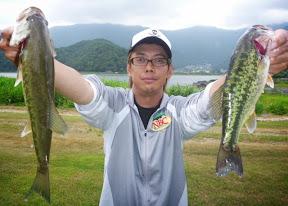 19位:酒井庸介選手(2本 580g)