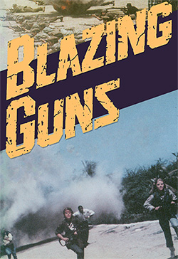 Blazing guns cover
